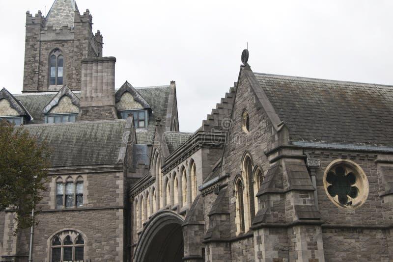 Καθεδρικός ναός Christchurch, μια σημαντική καθολική εκκλησία στο Δουβλίνο στοκ φωτογραφία με δικαίωμα ελεύθερης χρήσης