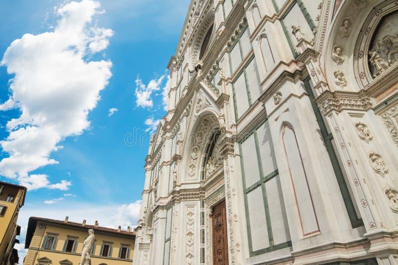 Καθεδρικός ναός Croce Santa στη Φλωρεντία στοκ φωτογραφία με δικαίωμα ελεύθερης χρήσης