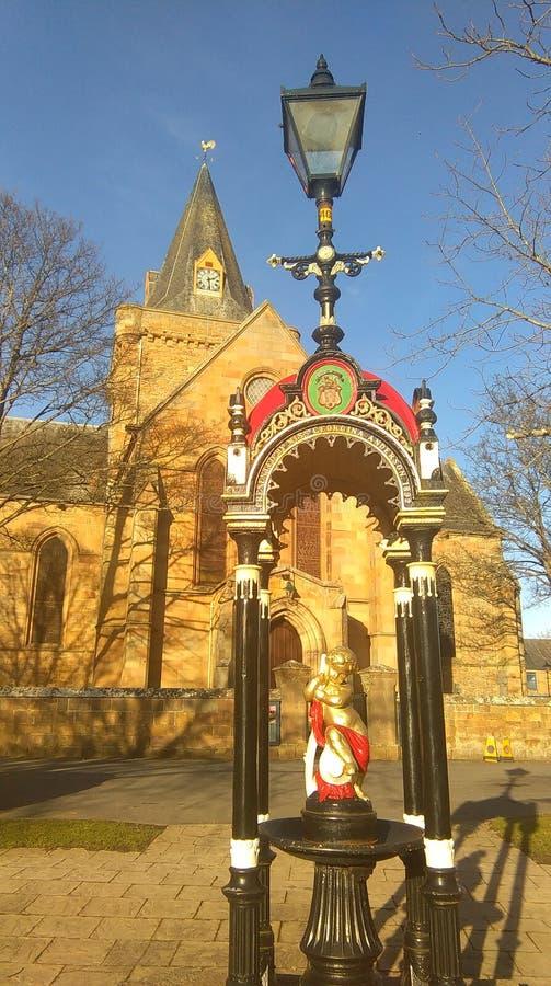 Καθεδρικός ναός Dornoch στοκ φωτογραφίες