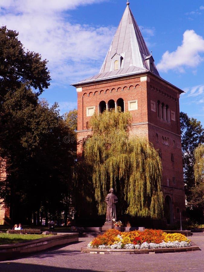 Καθεδρικός ναός Drohobych στοκ φωτογραφία