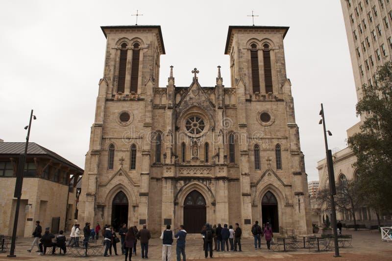 καθεδρικός ναός Fernando SAN στοκ φωτογραφία με δικαίωμα ελεύθερης χρήσης