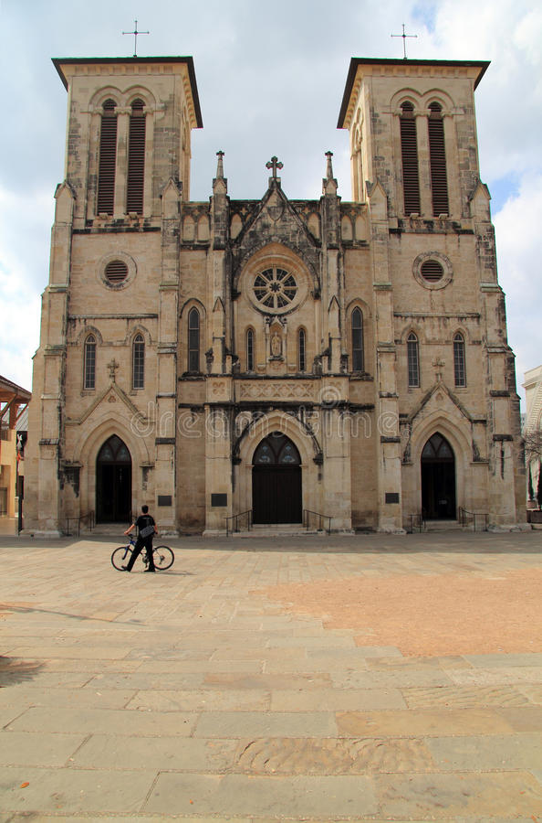 καθεδρικός ναός Fernando SAN στοκ εικόνες