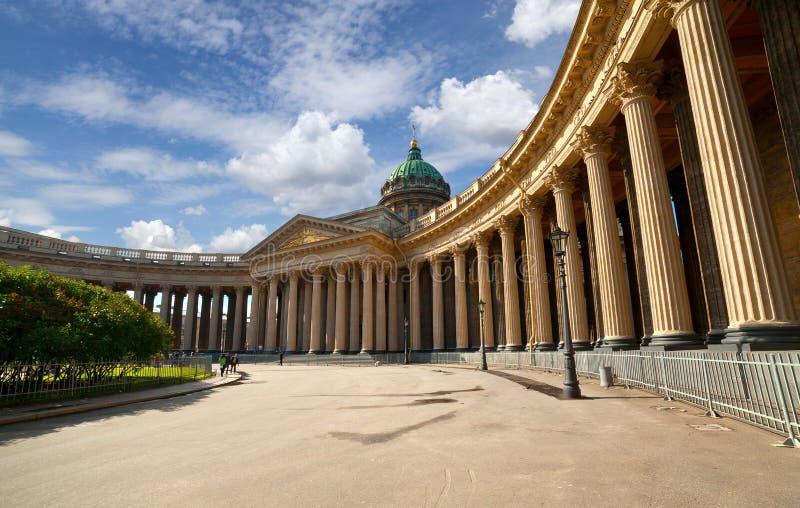καθεδρικός ναός kazan Πετρούπολη ST στοκ φωτογραφία με δικαίωμα ελεύθερης χρήσης