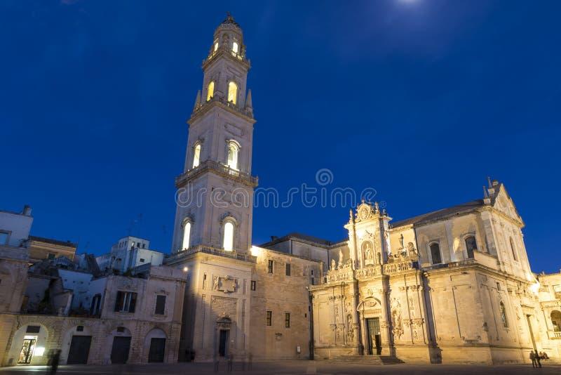 Καθεδρικός ναός Lecce στοκ φωτογραφίες