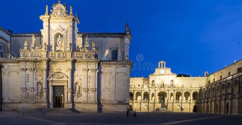 Καθεδρικός ναός Lecce στοκ εικόνες με δικαίωμα ελεύθερης χρήσης