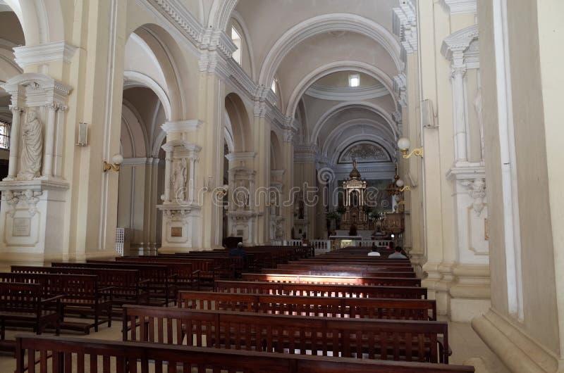 Καθεδρικός ναός Leon στοκ εικόνα
