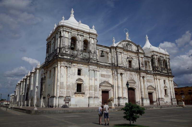 Καθεδρικός ναός Leon στοκ φωτογραφίες με δικαίωμα ελεύθερης χρήσης