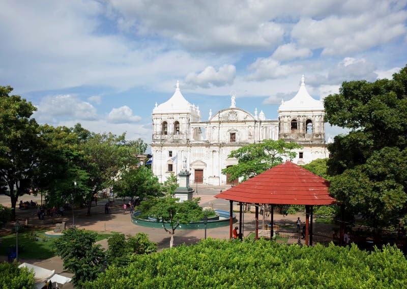 Καθεδρικός ναός Leon στοκ εικόνες