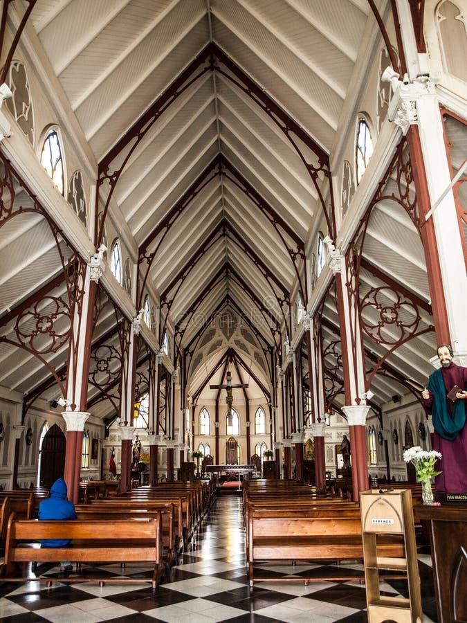 Καθεδρικός ναός SAN Marcos de Arica στοκ εικόνες