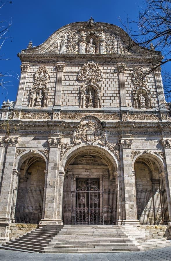 Καθεδρικός ναός SAN Nicola σε Sassari στοκ φωτογραφία με δικαίωμα ελεύθερης χρήσης