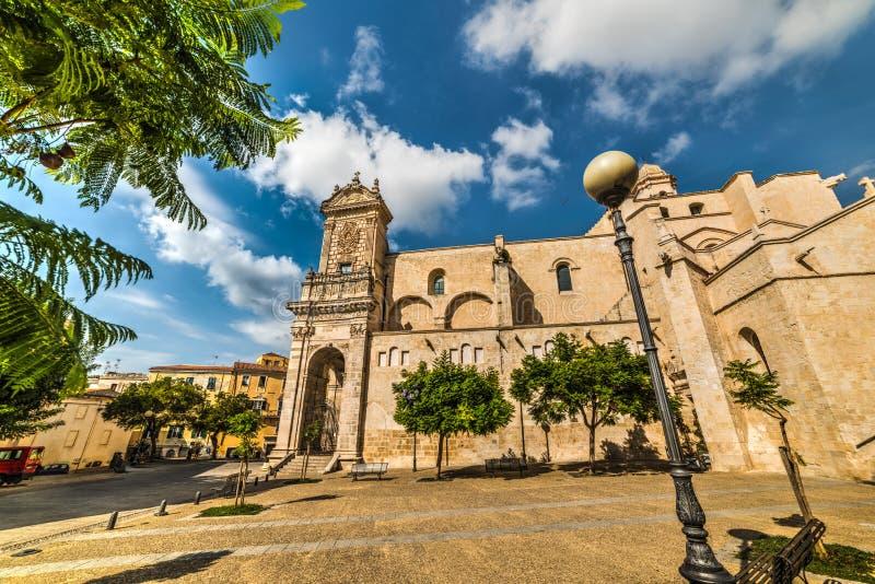 Καθεδρικός ναός SAN Nicola σε Sassari στοκ εικόνες με δικαίωμα ελεύθερης χρήσης