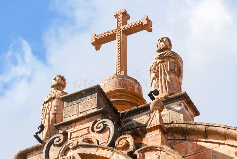 Καθεδρικός ναός Santo Domingo - Cusco, Περού στοκ φωτογραφία