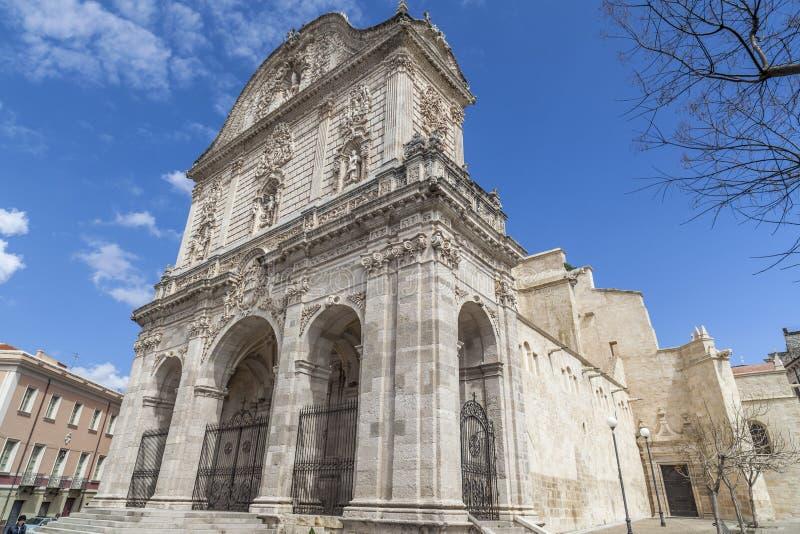 Καθεδρικός ναός Sassari στοκ φωτογραφία