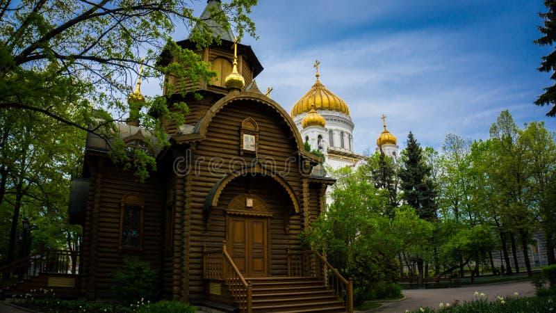 Καθεδρικός ναός Savior στη Μόσχα στοκ εικόνα