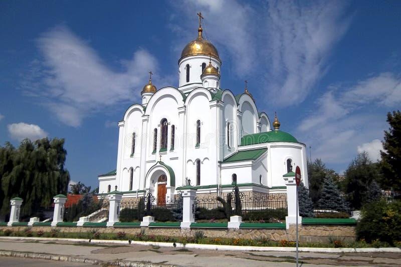 Καθεδρικός ναός, Tyraspol, Transnistria στοκ εικόνες