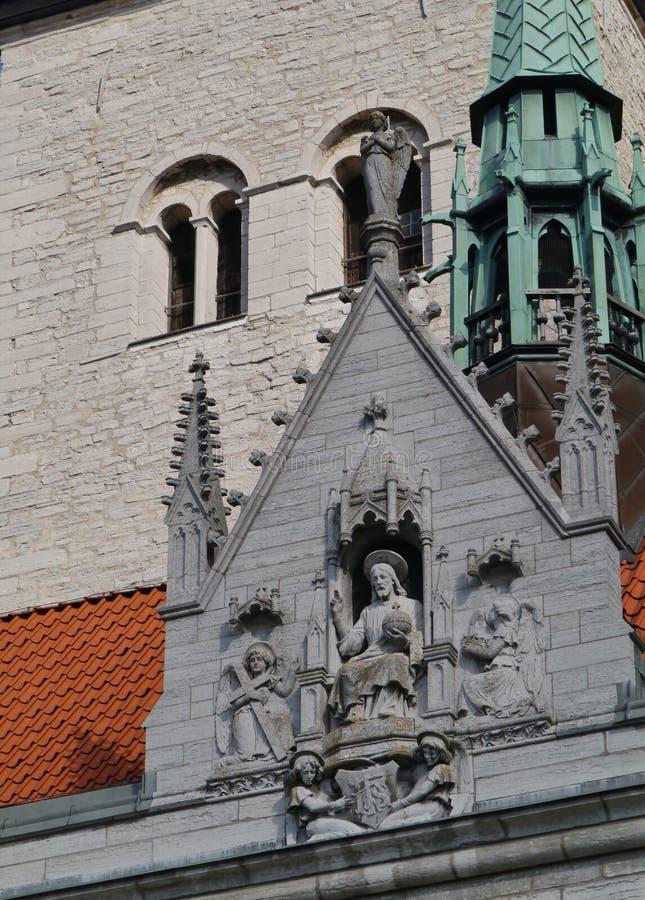 Καθεδρικός ναός Visby στη Gotland στοκ εικόνα