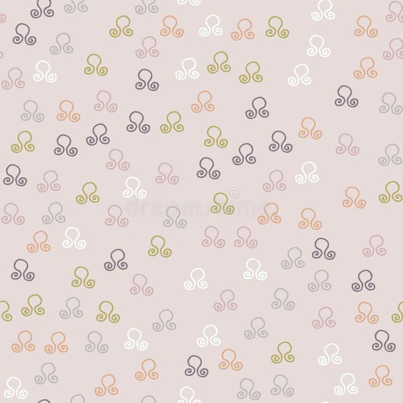 Καθιερώνον τη μόδα μωβ άνευ ραφής σχέδιο χρωμάτων 2018 σχεδόν ελεύθερη απεικόνιση δικαιώματος