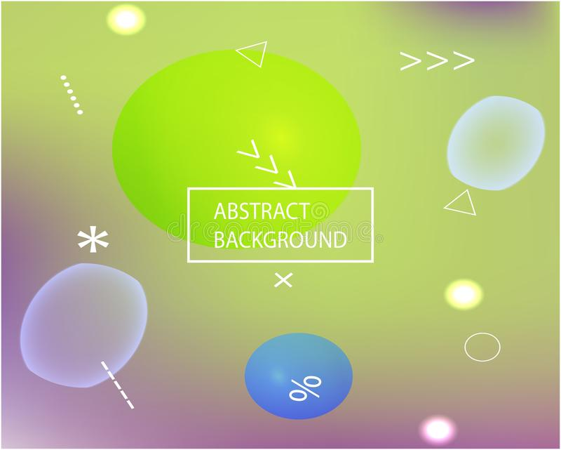 Καθιερώνον τη μόδα σύγχρονο αφηρημένο υπόβαθρο απεικόνιση αποθεμάτων