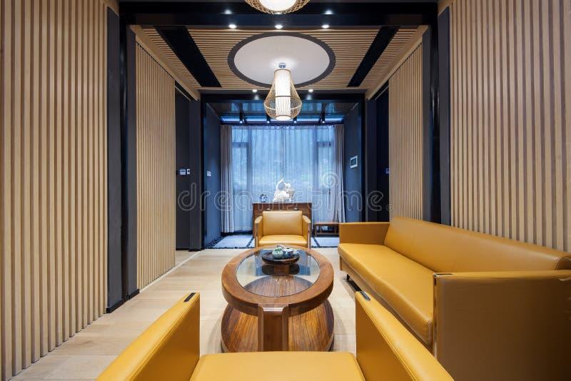 Καθιστικό του ξενοδοχείου στοκ εικόνα με δικαίωμα ελεύθερης χρήσης