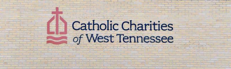 Καθολικές φιλανθρωπίες του δυτικού Τένεσι στοκ εικόνες