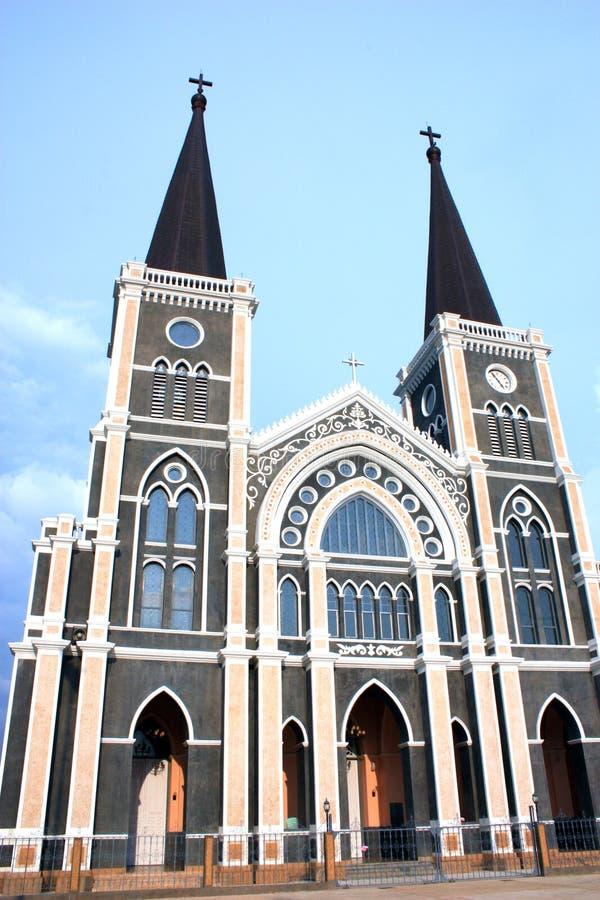 Καθολική εκκλησία, chantaburi, Ταϊλάνδη στοκ εικόνα