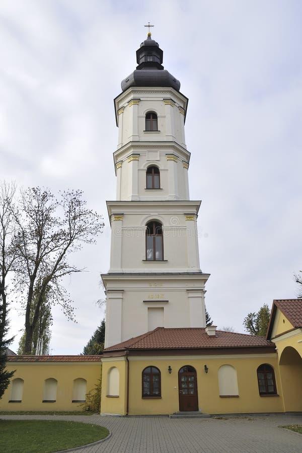 καθολική εκκλησία pinsk στοκ εικόνες