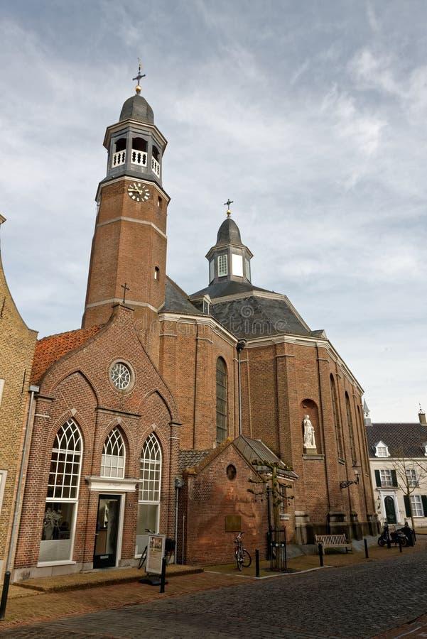 Καθολική εκκλησία Ravenstein ` s στο Netherland στοκ φωτογραφίες με δικαίωμα ελεύθερης χρήσης