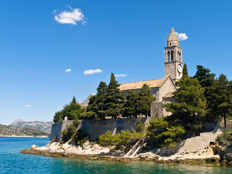 καθολικό μοναστήρι στοκ φωτογραφία με δικαίωμα ελεύθερης χρήσης