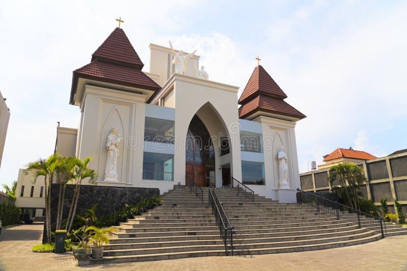 καθολικό kuta της Ινδονησία&si στοκ εικόνες