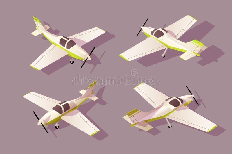 Καθορισμένα ελαφριά αεροσκάφη για τη μεταφορά αεροπορικώς με τη διαφορετική άποψη απεικόνιση αποθεμάτων