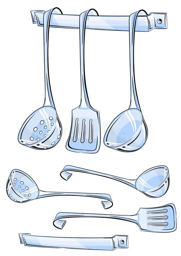 καθορισμένα εργαλεία κ&omi απεικόνιση αποθεμάτων