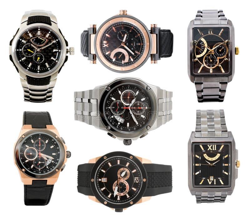 καθορισμένα ρολόγια ατόμ&ome στοκ εικόνες με δικαίωμα ελεύθερης χρήσης