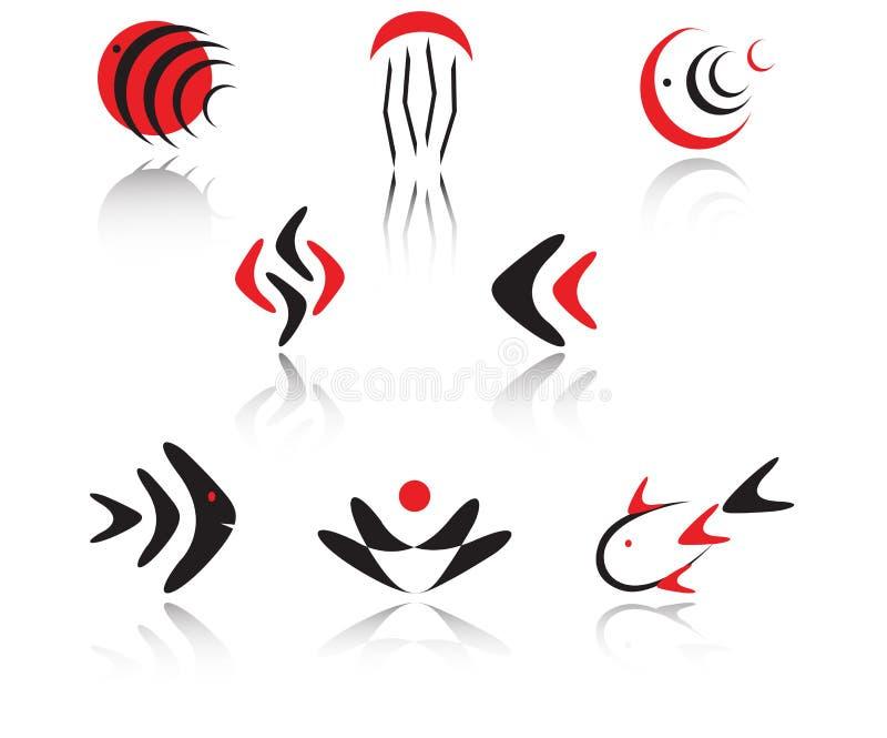 καθορισμένα σύμβολα απεικόνιση αποθεμάτων