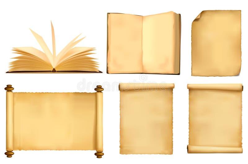 καθορισμένα φύλλα εγγράφ ελεύθερη απεικόνιση δικαιώματος
