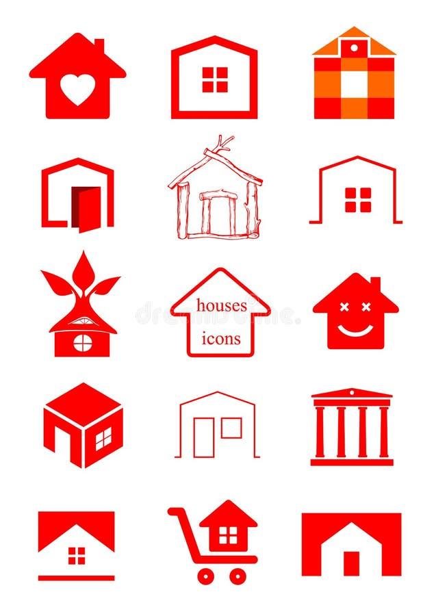 Καθορισμένες επιχειρήσεις εικονιδίων απεικόνιση αποθεμάτων