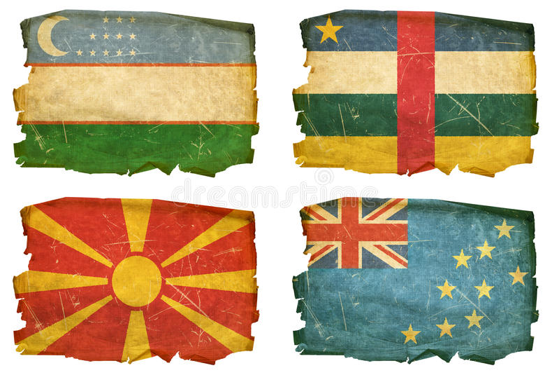 Καθορισμένες σημαίες παλαιά # 35 στοκ εικόνες με δικαίωμα ελεύθερης χρήσης