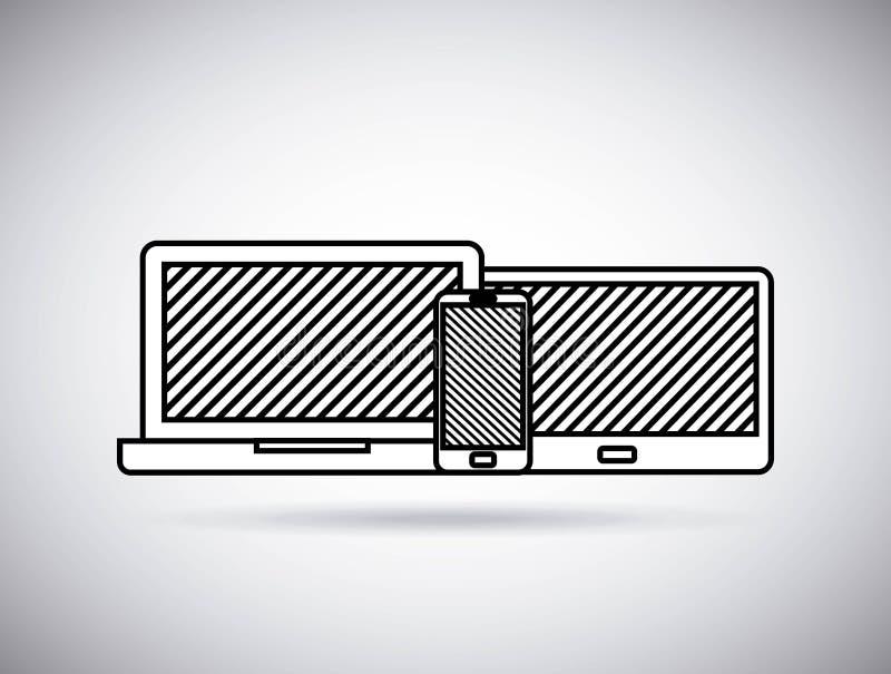 Καθορισμένη ηλεκτρονική συσκευών φορετής τεχνολογίας απεικόνιση αποθεμάτων