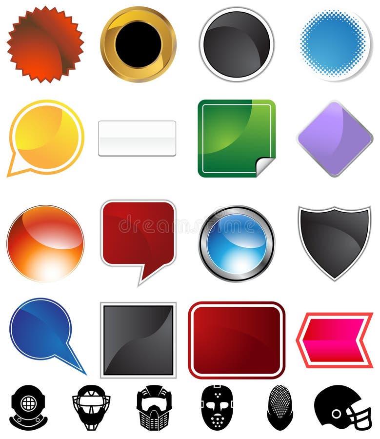 καθορισμένη ποικιλία κρ&alpha διανυσματική απεικόνιση