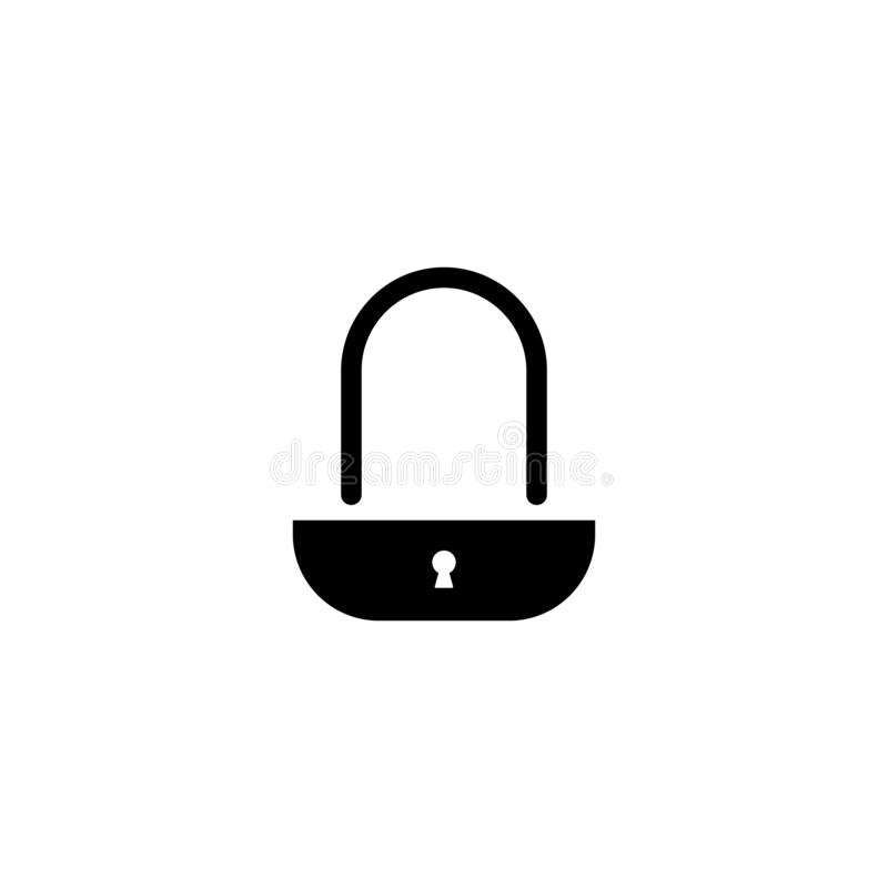 καθορισμένος διανυσματικός Ιστός κλειδωμάτων εικονιδίων απομονωμένο λευκό ασφάλειας ανασκόπησης έννοια Διανυσματικό σύμβολο στο λ απεικόνιση αποθεμάτων