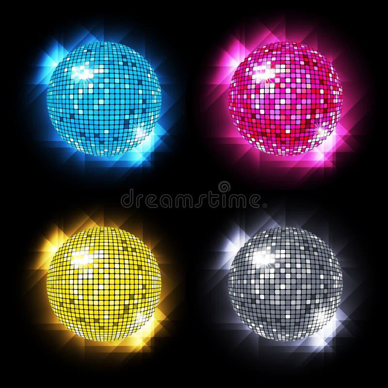 καθορισμένο διάνυσμα disco eps10 &sigm απεικόνιση αποθεμάτων