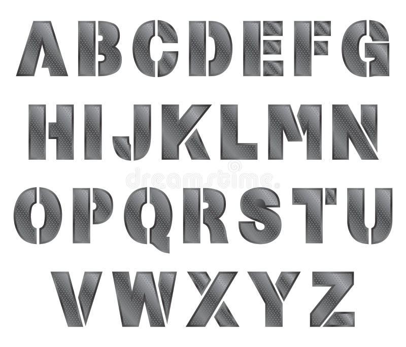 Download Καθορισμένο θέμα μετάλλων αλφάβητου Διανυσματική απεικόνιση - εικονογραφία από στοιχείο, στρώμα: 62709276