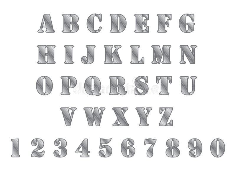 Download Καθορισμένο θέμα μετάλλων αλφάβητου Διανυσματική απεικόνιση - εικονογραφία από στρώμα, εικονίδιο: 62709277