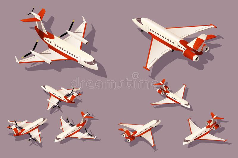 Καθορισμένο μέσο και μικρό αεροπλάνο για τη μεταφορά αεροπορικώς απεικόνιση αποθεμάτων