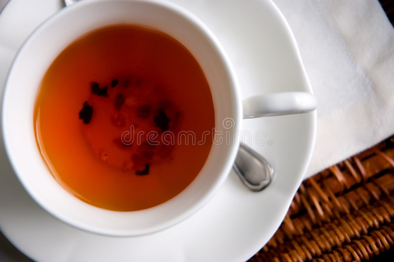 καθορισμένο τσάι στοκ φωτογραφίες