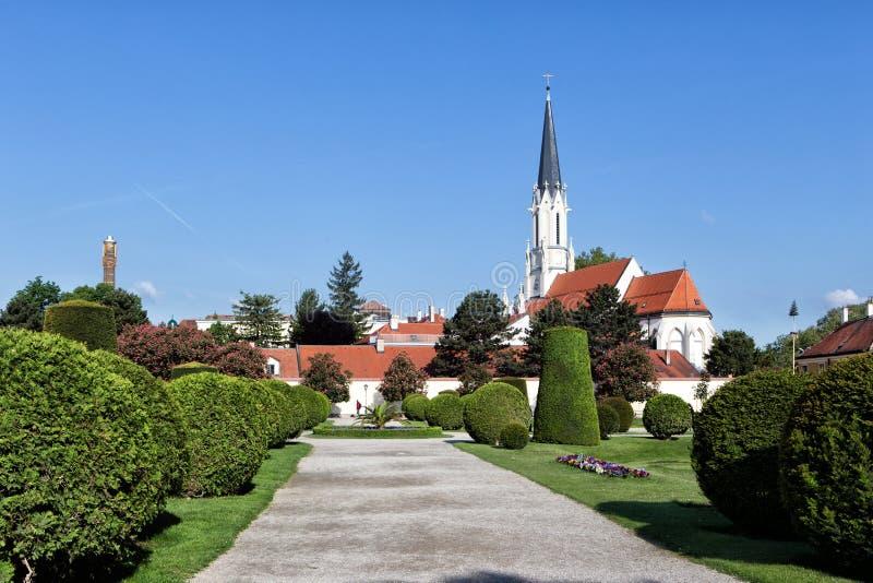 Καθολική εκκλησία Μαρία Hietzing κοινοτήτων στη Βιέννη Στο πρώτο Turki στοκ εικόνα με δικαίωμα ελεύθερης χρήσης