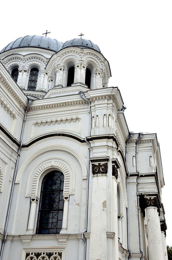 Καθολική εκκλησία στη Λιθουανία, πλευρά του κτηρίου στοκ φωτογραφίες με δικαίωμα ελεύθερης χρήσης