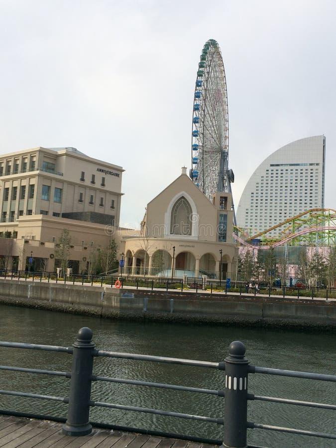 Καθολική εκκλησία Sakuragichou στοκ φωτογραφία