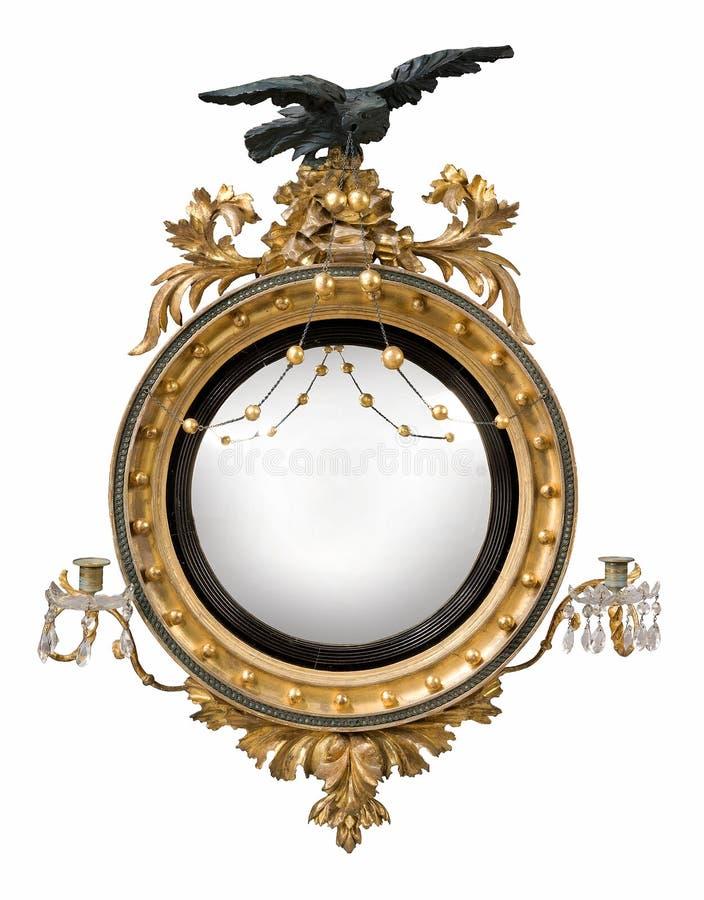 Καθρέφτης γύρω από την αντίκα διανυσματική απεικόνιση