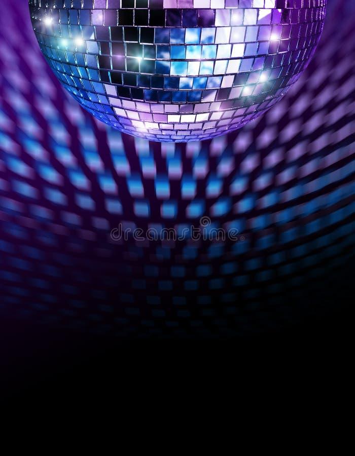 καθρέφτης disco σφαιρών στοκ εικόνες