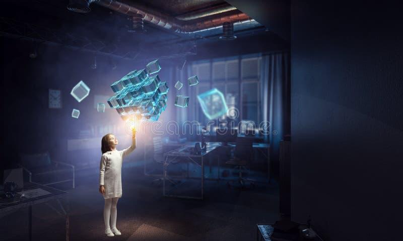 Καινοτόμες εντυπωσιακές τεχνολογίες στοκ εικόνα με δικαίωμα ελεύθερης χρήσης